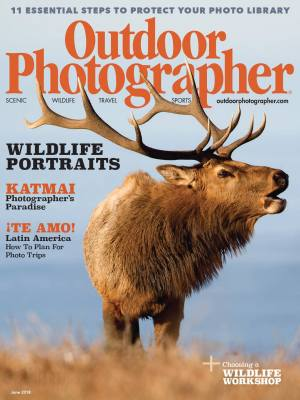 Outdoor Photographer Cover Image June 2018